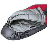 Спальный мешок Ferrino Yukon Pro/+0°C Red/Grey (Right), фото 2
