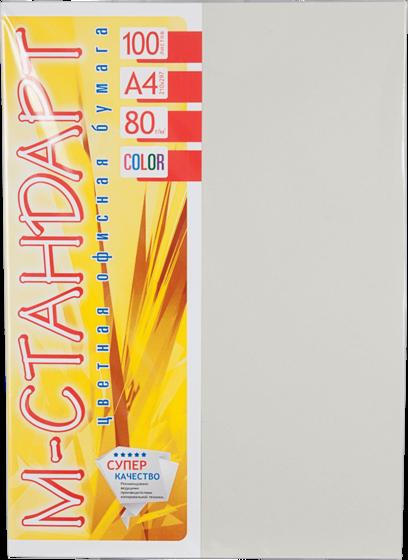 Бумага A4 'М-Стандарт' ИНТЕНСИВ 272 (Platinum) 100 л./80 гр.