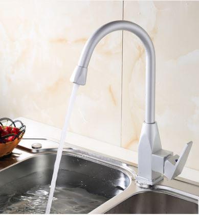 Смеситель кран на кухню для мойки раковины однорычажный