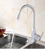 Смеситель кран на кухню для мойки раковины однорычажный, фото 1