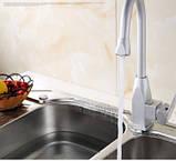 Смеситель кран на кухню для мойки раковины однорычажный, фото 3