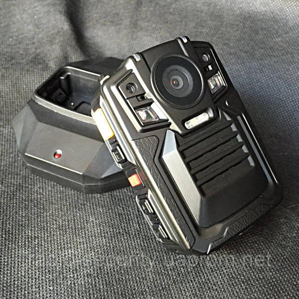Відеореєстратор для поліції і охорони Protect R 02 A нагрудний camera body
