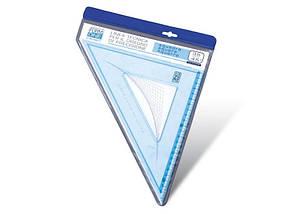 Трикутник пластиковий SX-0014 (30 див.-45°x45°)