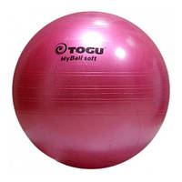 Гимнастический мяч TOGU My Ball Soft 55 см (розовый)