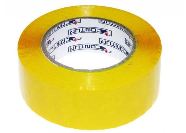 """Скотч """"Contur"""" желтый (150 м.), фото 2"""