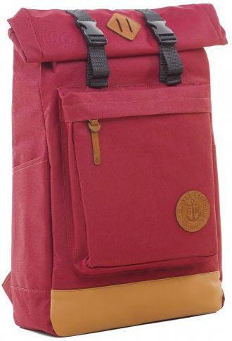 Городской рюкзак с отделением для ноутбука 16 л Gin Авиатор, бордо