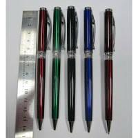 Ручка металлическая поворотная BAIXIN BP619 (золото/серебро, микс)