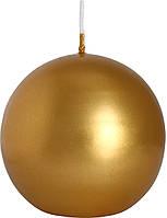 Декоративная свеча шар BISPOL, 8 см