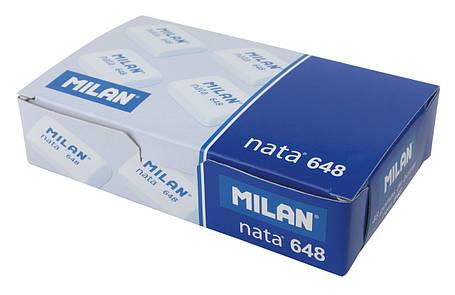 Ластик Milan 648 Nata прямоугольный (HB) 2*3 см., фото 2