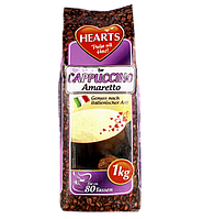 Капучино Hearts Cappuccino Amaretto, 1кг. Германия.