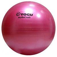 Гимнастический мяч TOGU My Ball Soft 65 см (розовый)