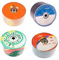 "Диск DVD+R ""Videx/Arena/Kaktuz/Mamba"" 4.7Gb 16x (bulk-50 шт.)"