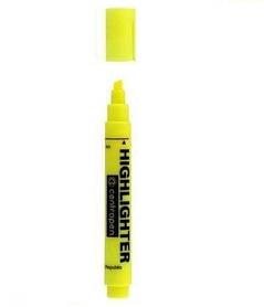 """Текстовыделитель """"Centropen"""" желтый"""