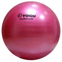 Гимнастический мяч TOGU My Ball Soft 75 см (розовый)