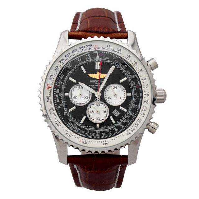 КЛАССИЧЕСКИЕ ЧАСЫ BREITLING CHRONOMETRE NAVITIMER BROWN