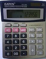 """Калькулятор """"EATES"""" CX-303 (12 разрядный, 1 питание)"""