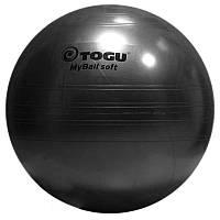 Гимнастический мяч TOGU My Ball Soft 75 см (черный)