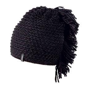Тепла в'язана молодіжна шапочка для дівчат від Loman Польща, фото 3