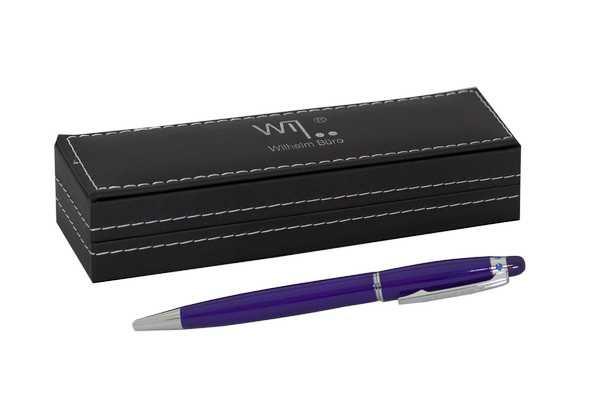 Ручка шариковая Wilhelm Buro WB183 поворотная (в подарочном футляре)