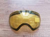 Желтая линза для вечернего катания. Линза для маски Be Nice