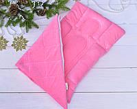 Матрасик для новорожденных (ГНЕЗДЫШКО )розовое