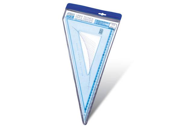 Трикутник пластиковий SX-0015 (30 див.-60°x30°), фото 2