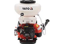 Мотоопрыскиватель садовый ранцевый Yato YT-85140