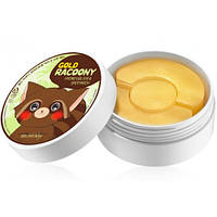 Золотые патчи под глаза Secret Key Gold Racoony Hydrogel Eye Spot Patch