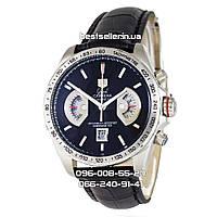 Часы Tag Heuer Grand Carrera Calibre 17 quartz Chronograph silver. Класс: AAA.