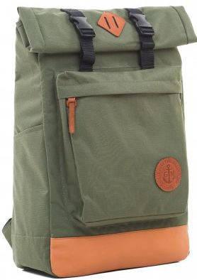 Городской рюкзак с отделением для ноутбука 16 л Gin Авиатор, хаки