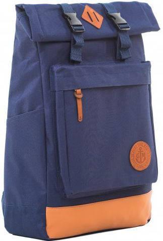 Городской рюкзак с отделением для ноутбука 16 л Gin Авиатор, синий неви