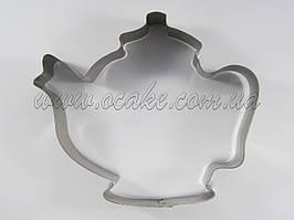 Вырубка для пряников чайник