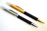 Ручка металлическая поворотная BAIXIN BP907 (черный+золото/серебол)