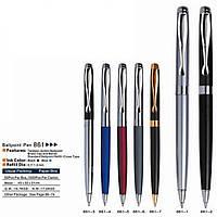 Ручка металлическая капиллярная BAIXIN RP860G №7,2 (черный/серый, черный/золотой)