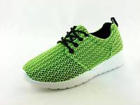 Кроссовки женские для ходьбы, бега, зала Inblu:SA-1R/020 зеленые р.36-40