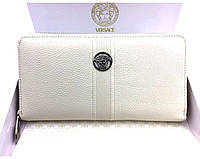 Женский кошелек в стиле Versace (V-443) beige, фото 1