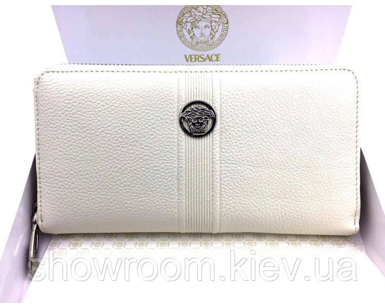 Женский кошелек в стиле Versace (V-443) beige