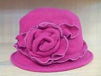 Шляпы RABIONEK из  шерсти с цветком, красный цвет