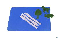 """Доска для пластилина """"Люкс Колор"""" ДПМ-4 (235*160 мм.)+стеки++набор из 3-х аппликаций"""