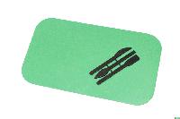 """Доска для пластилина """"Люкс Колор"""" ДПО-7 большая (195*340 мм.)+стеки"""