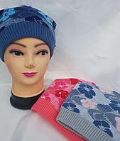 Женская шапка (на флисе)