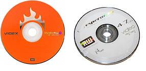 """Диск DVD+RW """"Videx/Esperenza"""" 4.7Gb 4x (cake-10 шт.)"""
