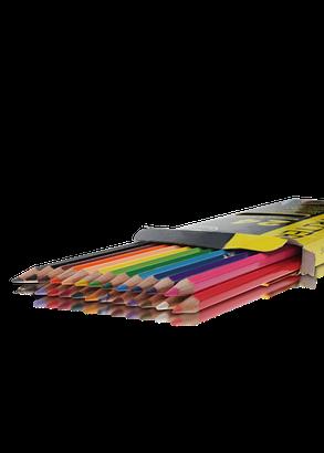 """Карандаши цветные акварельные 24 цвета """"MARCO"""" Superb Writer с кисточкой 4120-24CB, фото 2"""