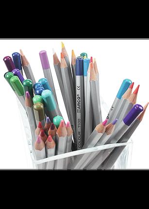 "Карандаши цветные 72 цвета ""MARCO"" Raffine 7100-72CB, фото 2"