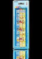 "Карандаши простые 6 шт ""MARCO"" Colorite с ластиком 1000EB-6BL"