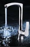 Смеситель кран однорычажный на кухню для мойки раковины, фото 2
