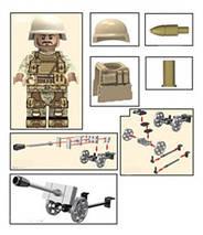 Набор SWAT рейнджерс военный конструктор, фото 3
