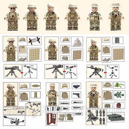Набор SWAT рейнджерс военный конструктор, фото 2