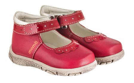 Memo Fiona красные - Туфли ортопедические детские