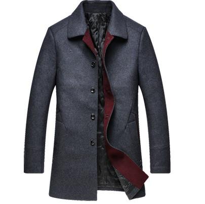 Мужское пальто. Модель 1199. Большие размеры.